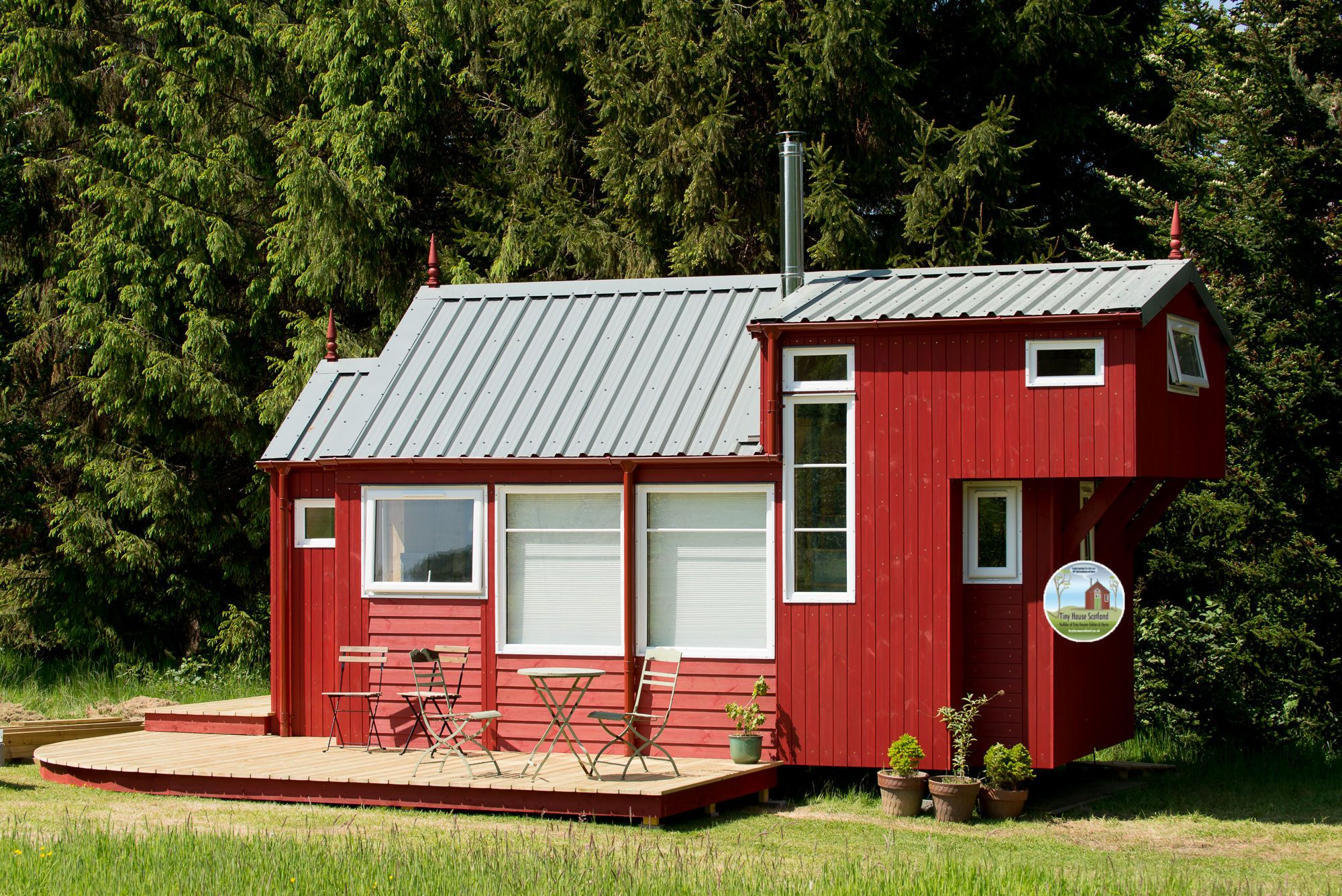rustic 24 front angle square cottages tiny homes pinterest