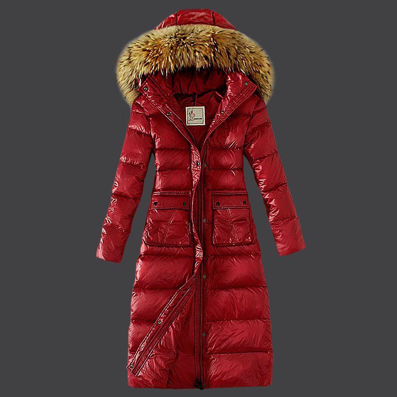 Moncler chaquetas para  rojo