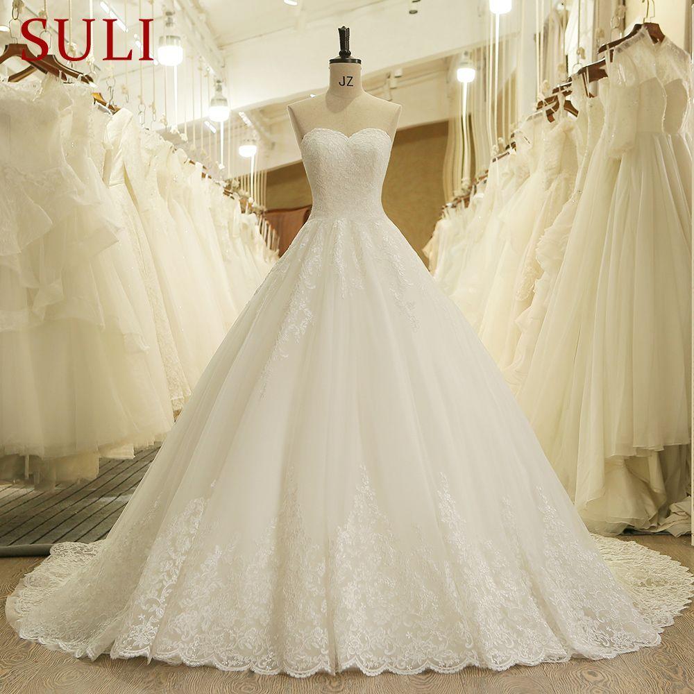 Lace Vintage Bridal Wedding Dress Princess Charming Sweetheart Applique Lace Vintage Br Ball Gowns Wedding Wedding Dresses Strapless Princess Bridal Gown [ 1000 x 1000 Pixel ]