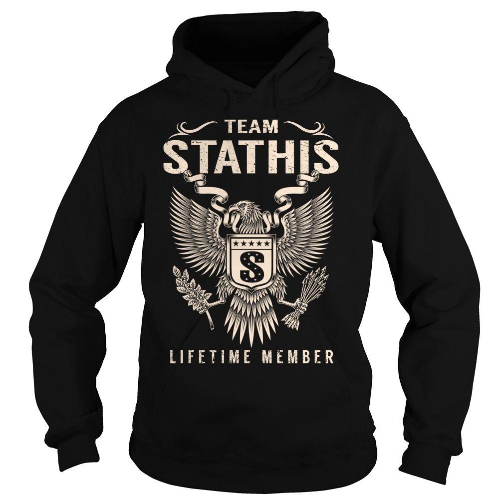 Team STATHIS Lifetime Member - Last Name, Surname T-Shirt