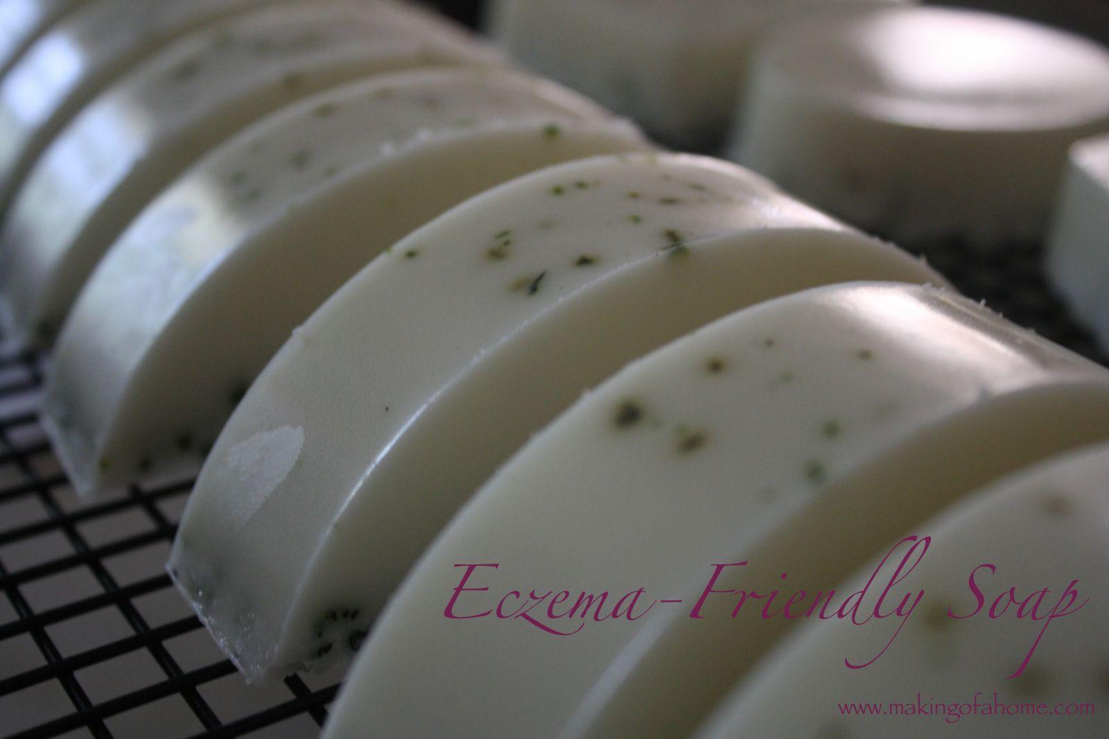 EczemaFriendly Soap Soap recipes, Soap making recipes