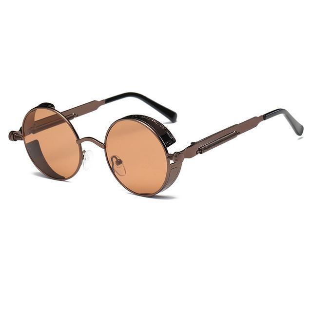 14817016b9af Eyewear Type: Sunglasses Item Type: Eyewear Style: Round Department Name:  Adult Lenses Optical Attribute: Gradient,Mirror,UV400 Lens Width: 48mm  Frame ...
