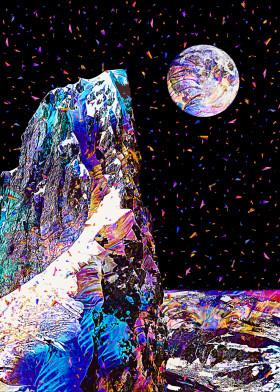 Magical Nature by Gab Fernando | metal posters - Displate | Displate thumbnail