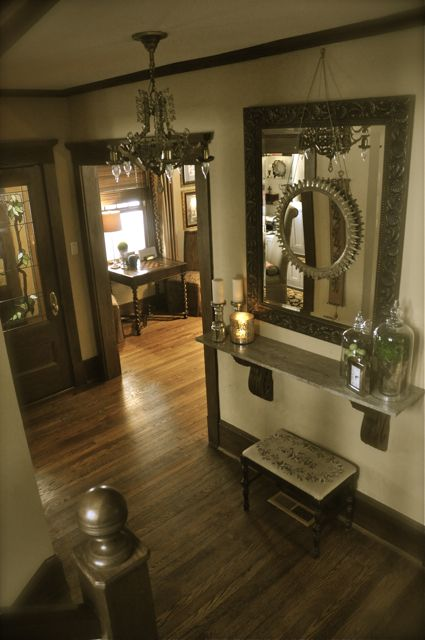 Love all of this especially the mirror on beautiful houses inside homes also foyer entryway historic home decorating old pinterest rh