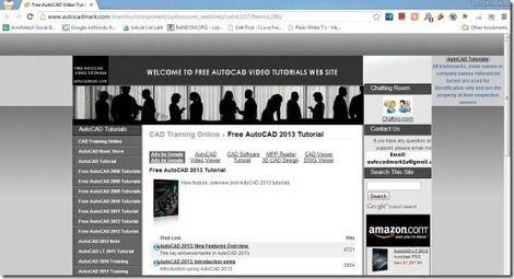 5 Free AutoCAD Tutorial Websites