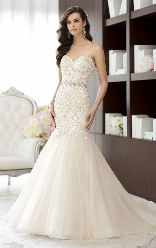 D1431 Vintage Style Wedding Dress by Essense of Australia | wedding ...
