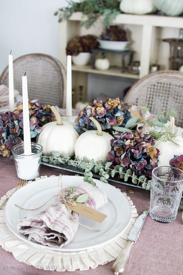 French Fall Home Tour with Purple and Green (No Orange Allowed) | So Much Better With Age