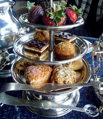 High Tea At The Pfister Hotel In Downtown Milwaukee Wi