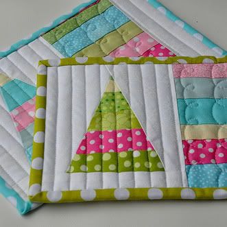 Some really cute scrappy tutorials here - she sells patterns for others etc. as well I believe.