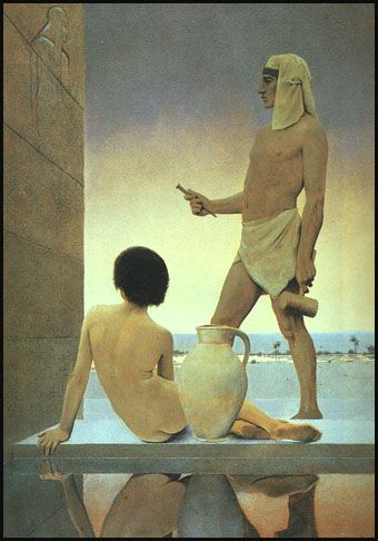 Maxfield Parrish creates such luminous beautiful images. #art