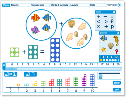 Numicon software for interactive whiteboards | Numicon ideas