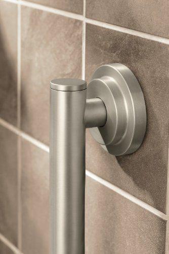 Moen Csi Yg0712bn Iso 12 Inch Designer Grab Bar Brushed Nickel Amazon Com Grab Bars Design Brushed Nickel Towel Bar
