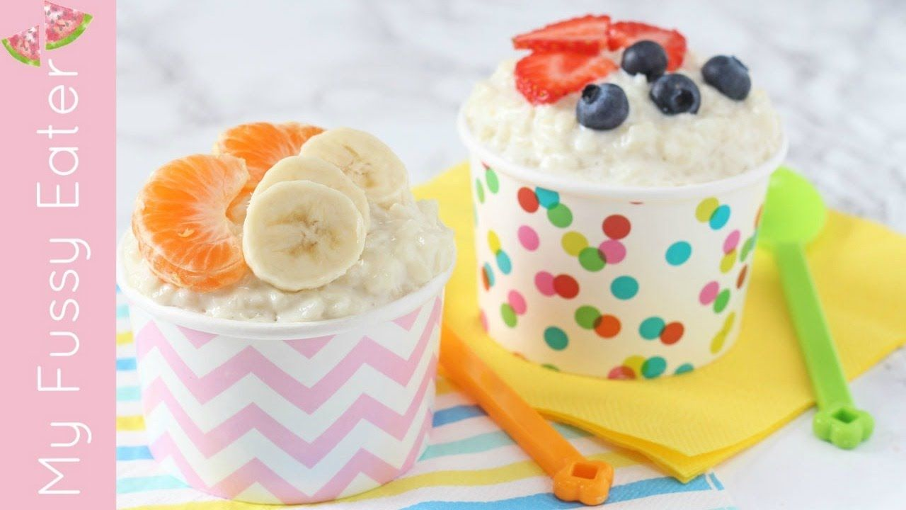 Sugar Free Coconut Rice Pudding | Healthy Weaning ...
