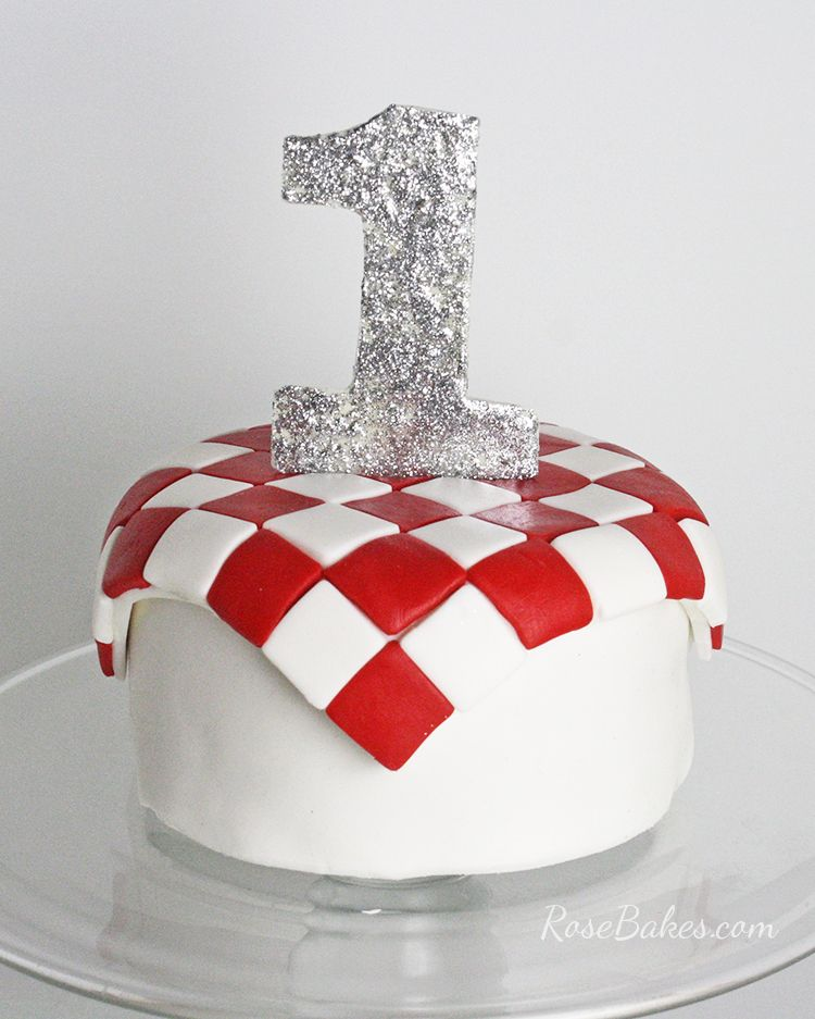 How To Make A Number Cake Topper From Candy Melts Or Almond Bark