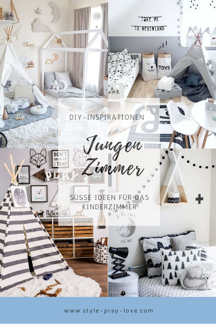 diy kinderzimmer inspirationen f r jungen style pray. Black Bedroom Furniture Sets. Home Design Ideas
