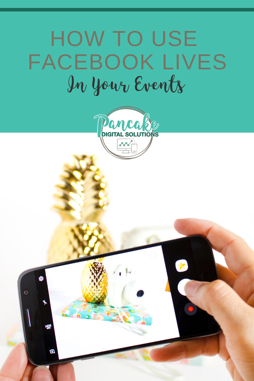 Facebook Live In Events Going Live For Higher Event Attendance Using Facebook For Business Marketing Strategy Social Media How To Use Facebook