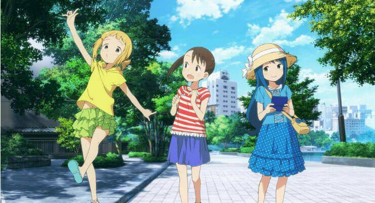 Mitsuboshi Colors Warna Adalah Tiga Gadis Kecil Imut Yang Berkumpul Bersama Dan Melindungi Kedamaian Kota Mereka Mereka Bersenang Sen Anime Imagenes Slash