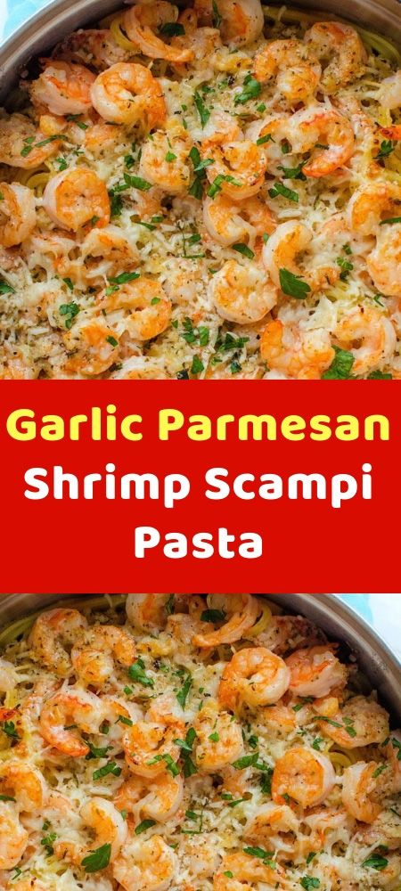 Garlic Parmesan Shrimp Scampi Pasta Ingredients : 8 ounces linguine 1 teaspoon crushed red pepper flakes 1 teaspoon cajun seasoning 1 tablespoon olive oil 1/4 cup white wine OR chicken stock if you dont want to #garlicparmesanshrimp