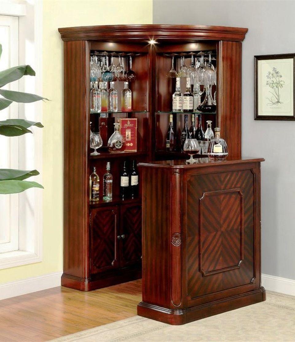 Bar design  rakesh  Home bar cabinet Corner bar cabinet