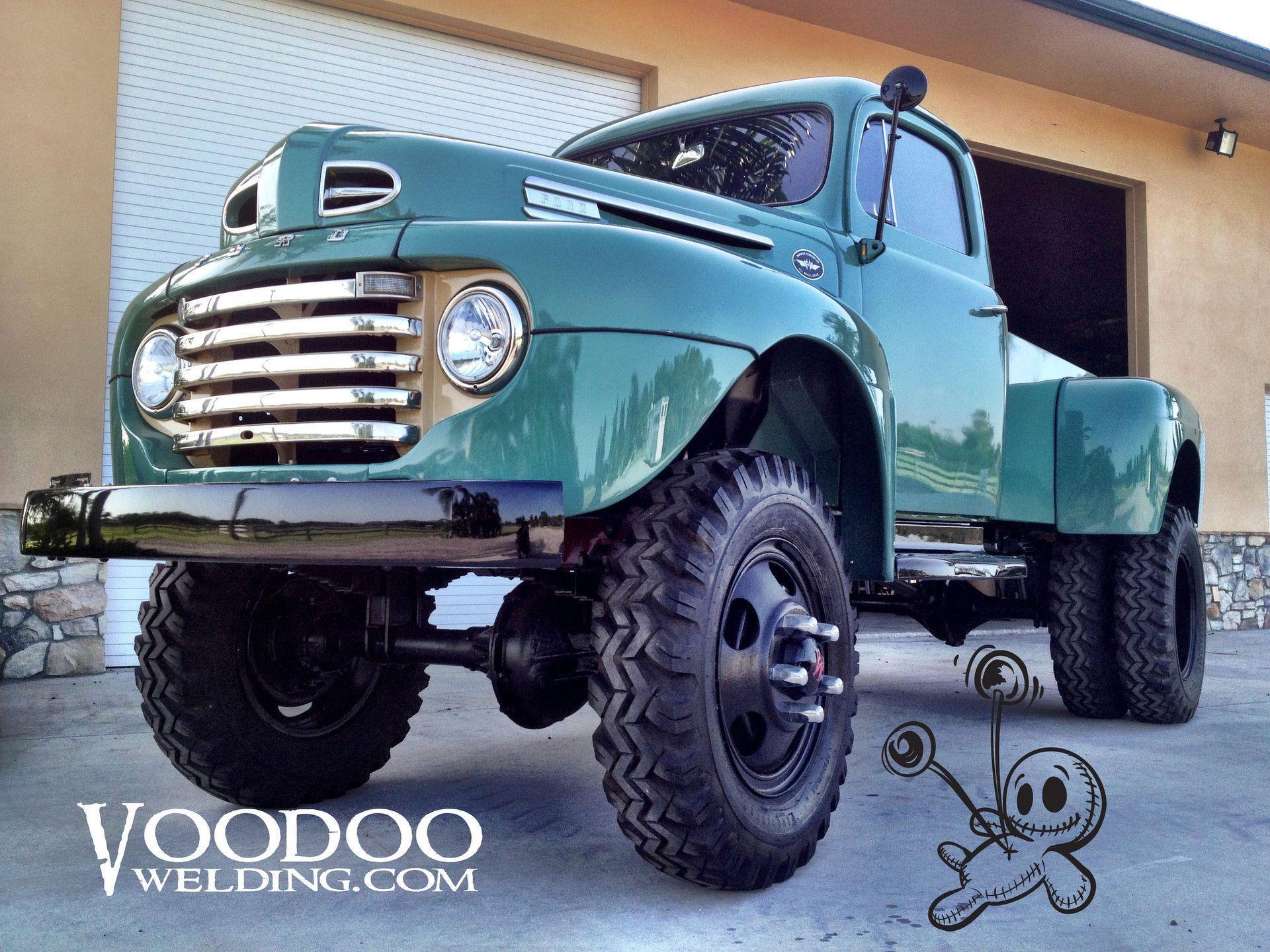Voodoo Welding Speed And Custom 1948 Ford F 6 Marmon Herrington Trucks Ford Trucks Classic Cars Trucks