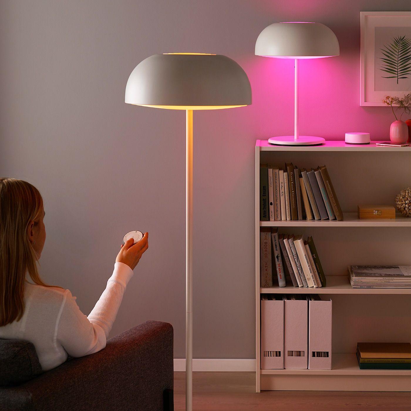 TRÅDFRI Set mit Gateway Farb und Weißspektrum IKEA