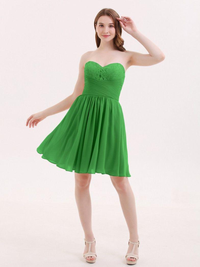 10 grünes kleid kurz | grünes kleid, formelle kleider, kleider