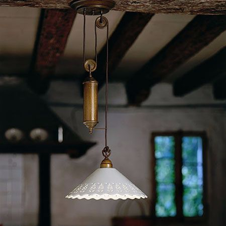 Unique Ceramic Pendant Light, Part Of A Range Of Italian Fittings Which Are  Inspired By
