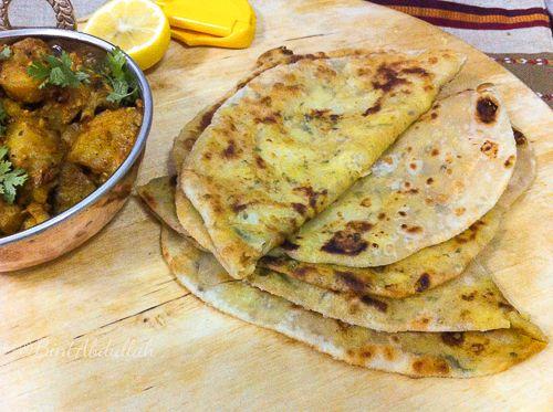 Bread Stuffing With Potatoes خبز البراتا بالبطاط Cooking Recipes Recipes Food