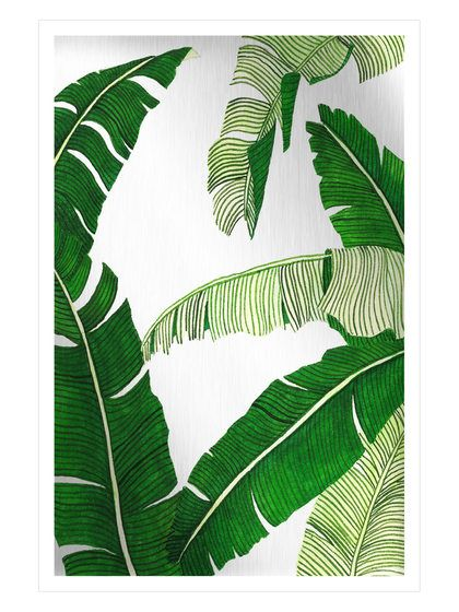 Banana Leaves Mirror By Marmont Hill At Gilt Painting