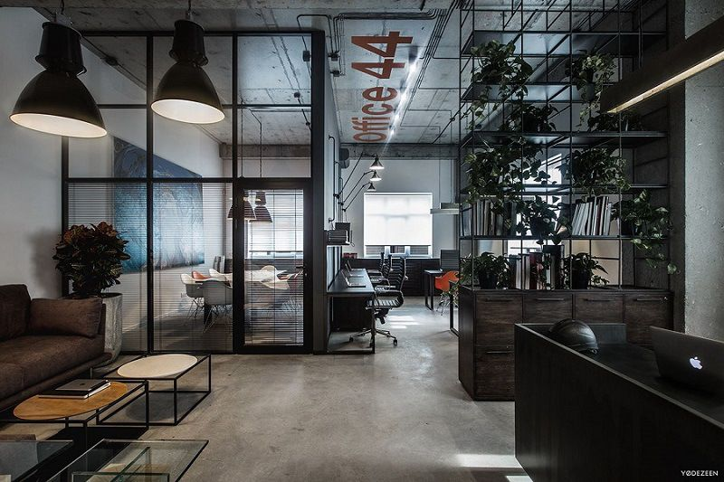 Superbe Cool Offices In Industrial Style Industrial Office Design, Industrial  Interiors, Office Interior Design,