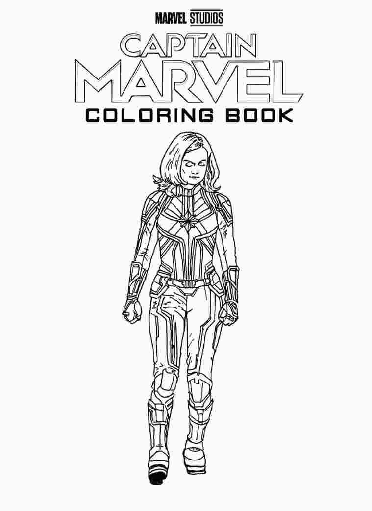 Captain Marvel Movie Coloring Pages Marvel Coloring Captain America Coloring Pages Avengers Coloring Pages
