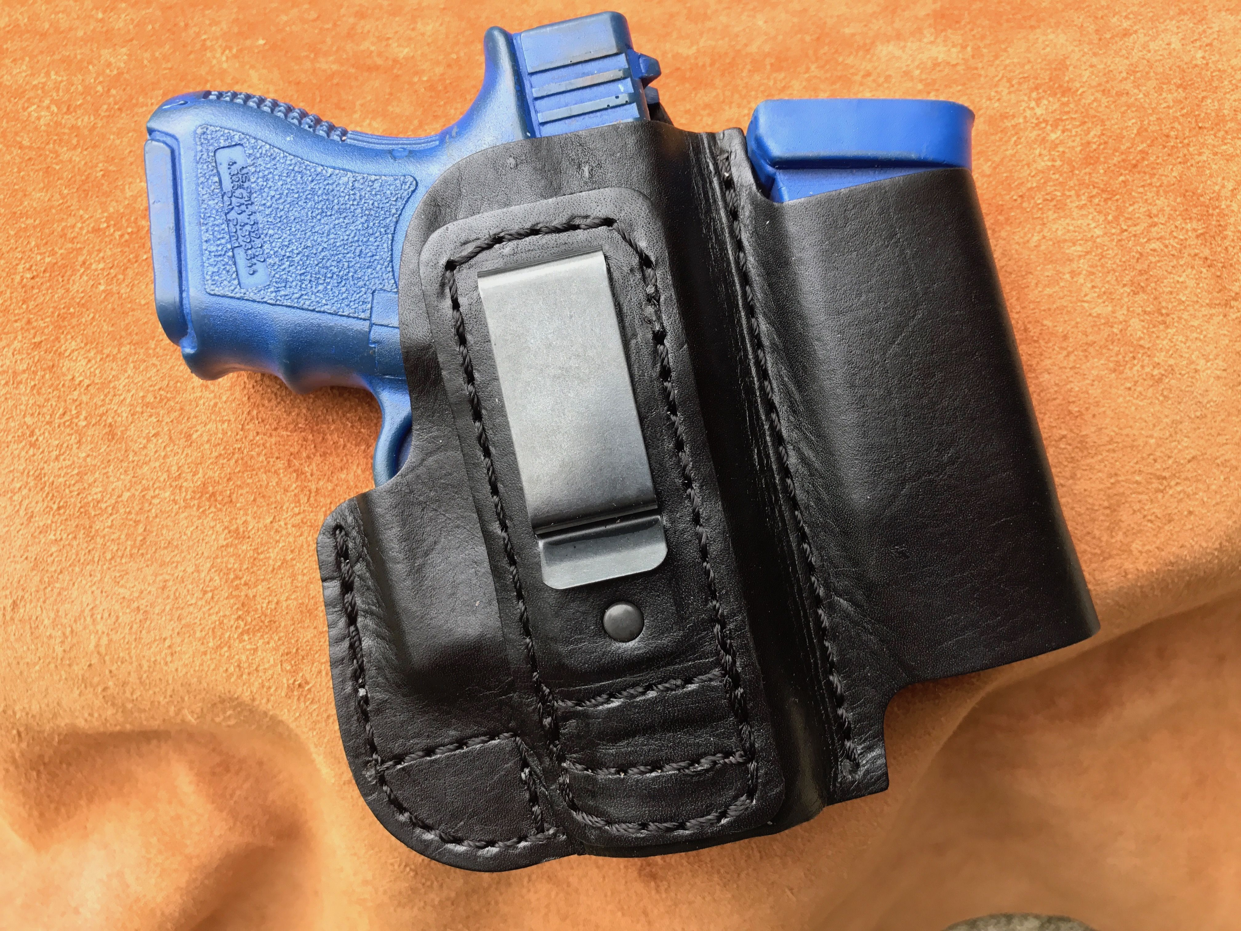 Concealed Carry Magazine Holder Conceal Carry Tuckable IWB Holster w Magazine Pouch HOLSTER41 28