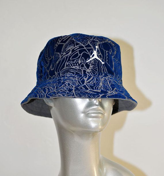 a70cb37a Vintage RARE Michael Jordan Jump BUCKET Hat by Continual on Etsy, $48.00