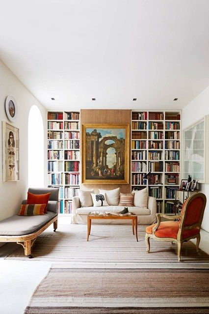 Interior Design Of Living Room Fascinating Alcove Meets Art  Alcove Living Rooms And Shelves Design Decoration