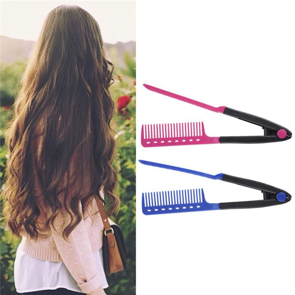 Straightener combs haircut hair style diy salon styling tools