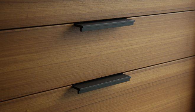 Furniture Hardware · Black Powder Coated Handle