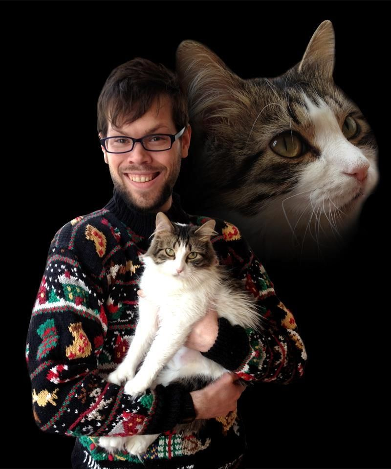 Absolute Worst Pictures of Men and Cats Men with cats