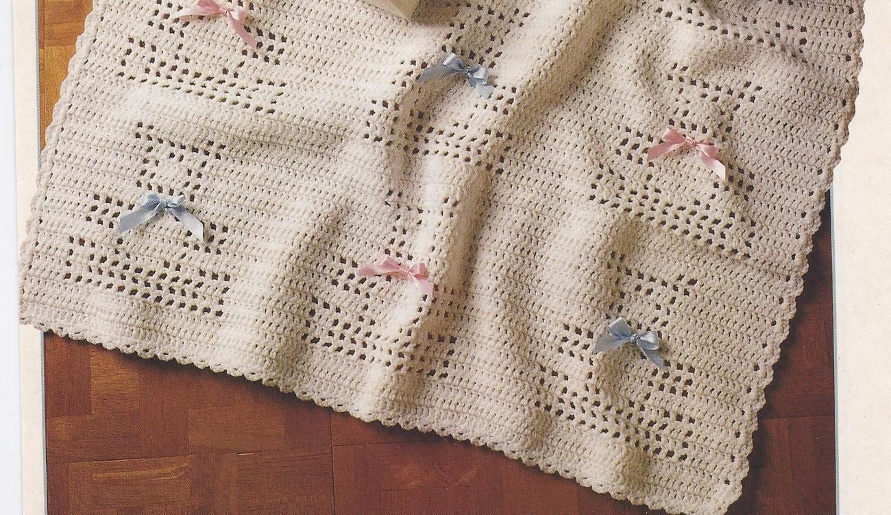 Baby Teddy Bear Afghan Filet Crochet Pattern | Pinterest | Baby ...