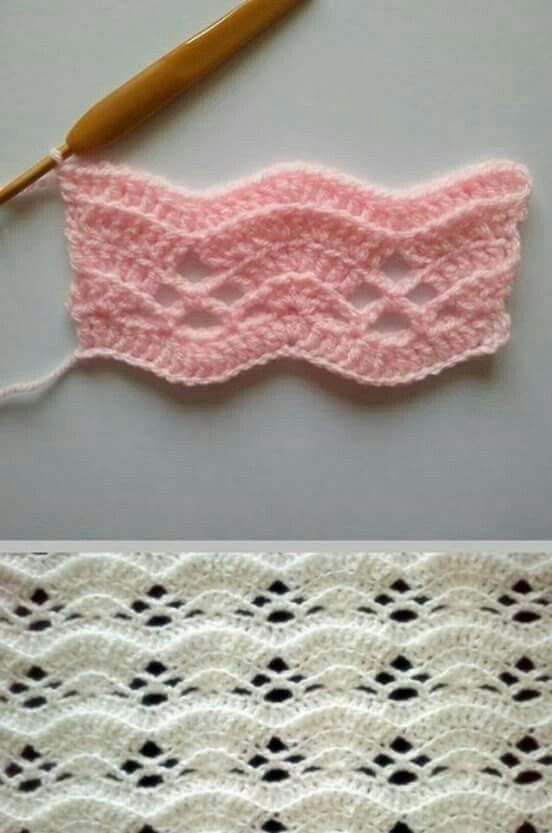 Pin de Polly Anne McKaskle en Crochet   Pinterest   Manta, Mantita ...