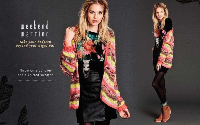 Take your bodycon beyond your night out with our Weekend Warrior feature! #threadsence #fashion
