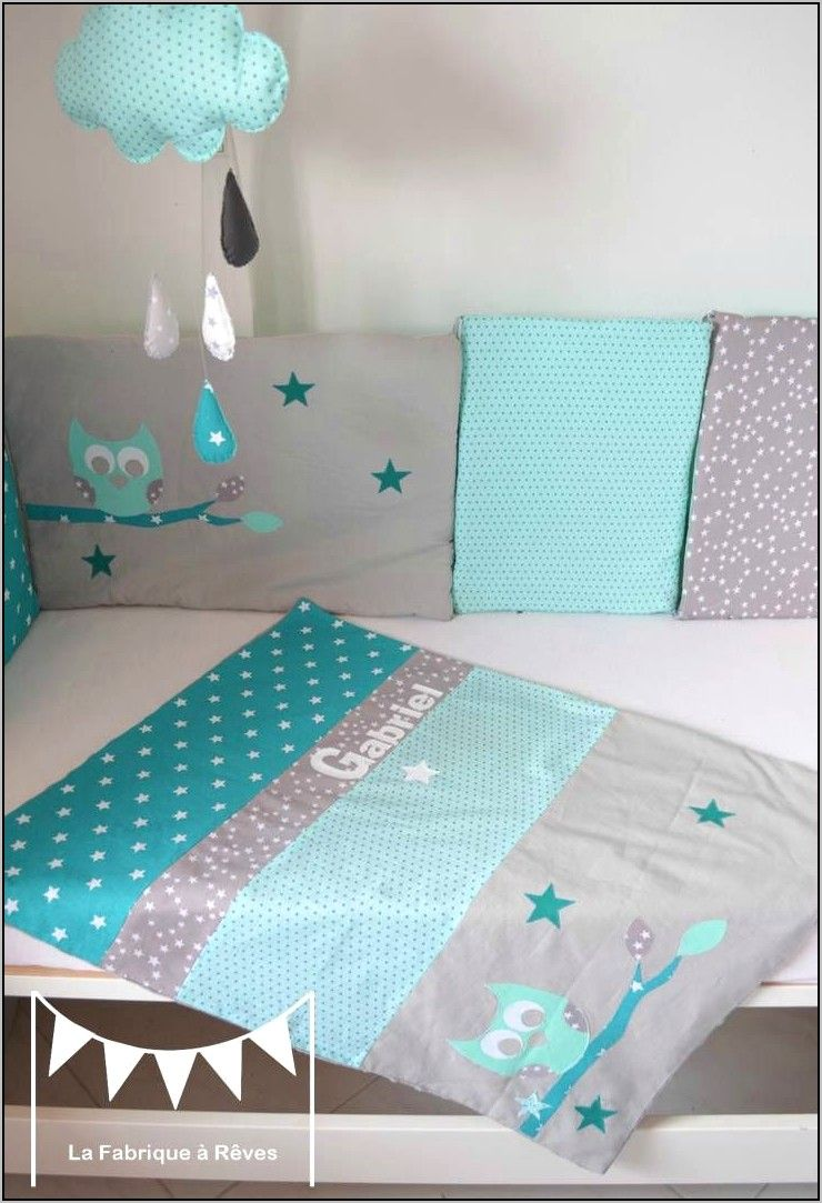 Deco Chambre Bebe Vert Anis Et Turquoise In 2020 Beautiful Color