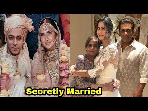 Good News Salman Khan And Katrina Kaif Secretly Married Youtube Secretly Married Katrina Kaif Salman Khan
