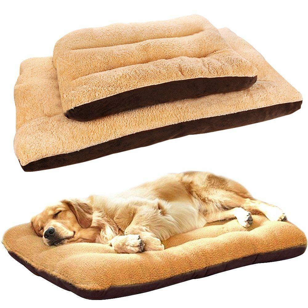 Pet Bed Mattress Dog Cat Cushion Pillow Mat Blanket Soft Winter Warm Extra Large Unbranded Pet Cushions Dog Bed Mat Dog Bed Large