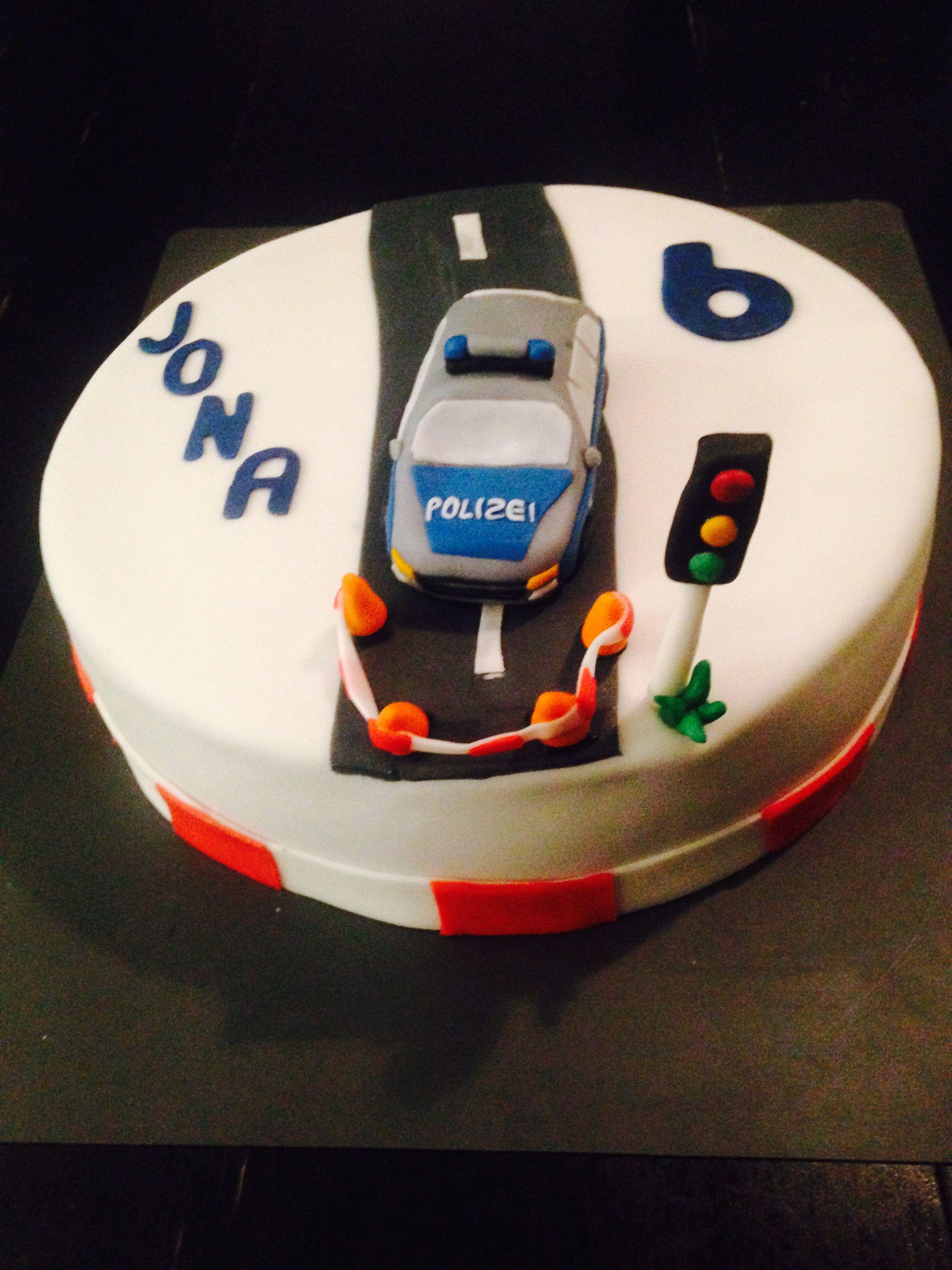 Polizei Torte Police cake
