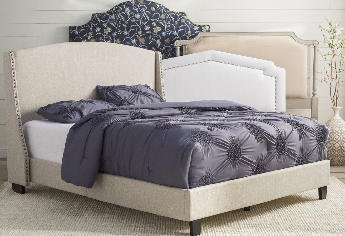 Chambery Queen Upholstered Bed Upholstered beds, Panel