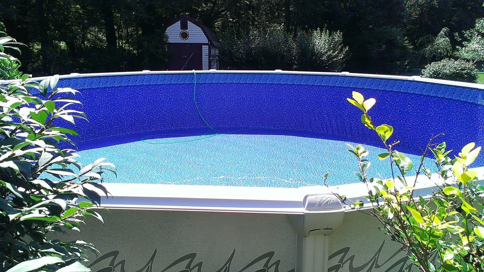 Liner Replacement In 24 Round Atlantic Pool Our Above