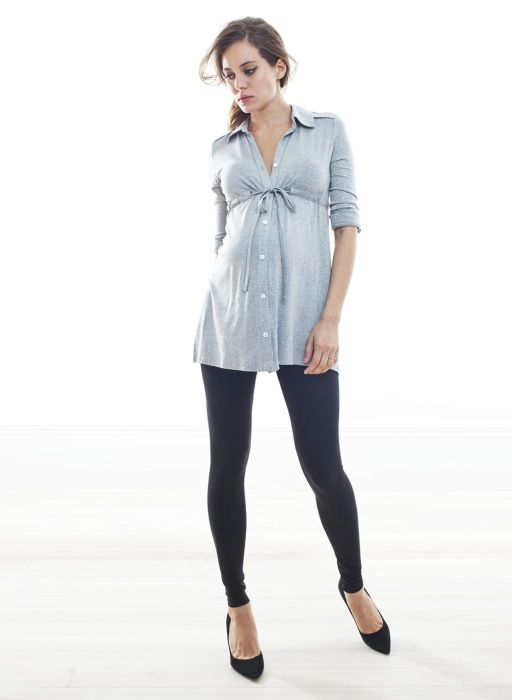 The Relaxed Jersey Shirt French Navy Odezhda Beri