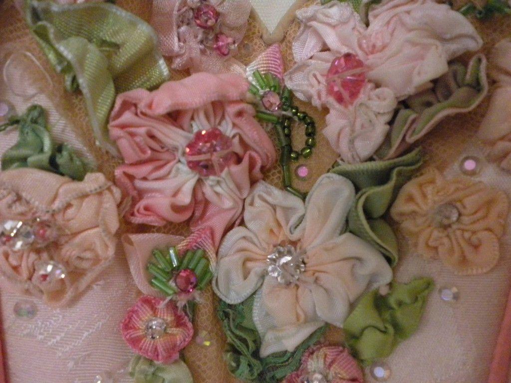 Silk Flower Detail From San Francisco Ballet Costume Tutu
