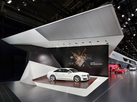 Exhibition Booth Design Exhibit Stands Stand Display Audi Interior Architecture Jeep Concept Showroom
