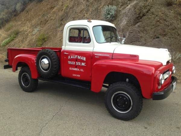 Image Result For 1954 International Pickup Truck International